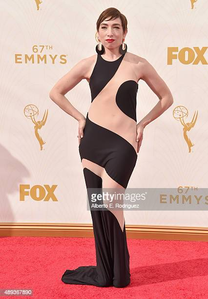 Actress Naomi Grossman attends the 67th Emmy Awards at Microsoft Theater on September 20 2015 in Los Angeles California 25720_001
