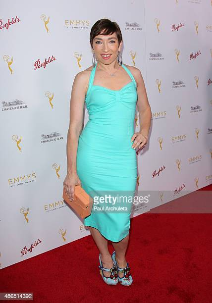Actress Naomi Grossman attends the Television Academy's cocktail reception to celebrate the 67th Emmy Awards at The Montage Beverly Hills on August...