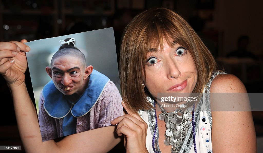 Actress <a gi-track='captionPersonalityLinkClicked' href=/galleries/search?phrase=Naomi+Grossman&family=editorial&specificpeople=7644248 ng-click='$event.stopPropagation()'>Naomi Grossman</a> participates in The Hollywood Show held at Westin LAX Hotel on July 13, 2013 in Los Angeles, California.