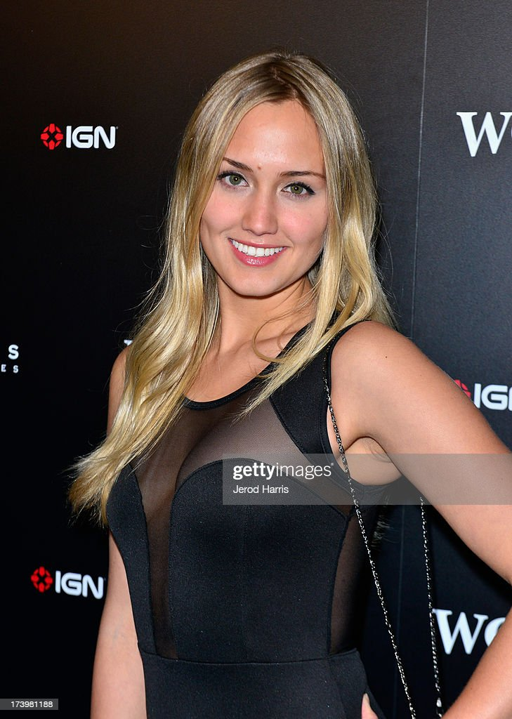 Actress Naomi Kyle attends IGN And Focus Features Comic-Con 2013 Party Presented By The World's End at Float at Hard Rock Hotel San Diego on July 18, 2013 in San Diego, California.