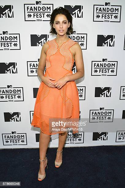 Actress Naomi Scott attends the MTV Fandom Awards San Diego at PETCO Park on July 21 2016 in San Diego California