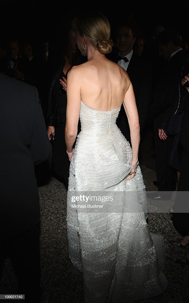 Actress Naomi Watts adjusts her dress as she departs the 'Fair Game' Premiere at the Palais des Festivals during the 63rd Annual Cannes Film Festival on May 20, 2010 in Cannes, France.
