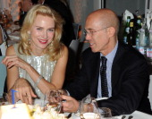 Actress Naomi Watts and CEO of DreamWorks Animation Jeffrey Katzenberg attends the Vanity Fair And Gucci Party during the 65th Annual Cannes Film...