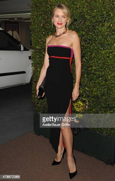Actress Naomi Watts arrives at BVLGARI 'Decades Of Glamour' Oscar Party Hosted By Naomi Watts at Soho House on February 25 2014 in West Hollywood...