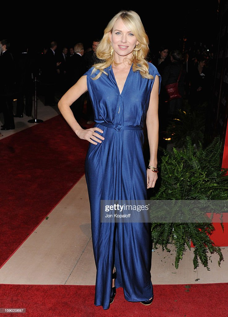 Actress Naomi Watts arrives at the 24th Annual Palm Springs International Film Festival Awards Gala at Palm Springs Convention Center on January 5, 2013 in Palm Springs, California.