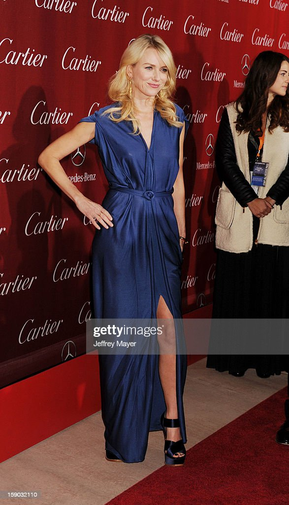 Actress Naomi Watts arrives at the 24th Annual Palm Springs International Film Festival - Awards Gala at Palm Springs Convention Center on January 5, 2013 in Palm Springs, California.