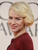 Actress Naomi Watts arrives at the 70th Annual Golden Globe Awards held at The Beverly Hilton Hotel on January 13 2013 in Beverly Hills California