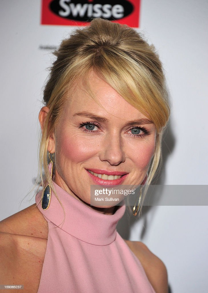 Actress Naomi Watts arrives for the G'Day USA Black Tie Gala held at at the JW Marriot at LA Live on January 12, 2013 in Los Angeles, California.