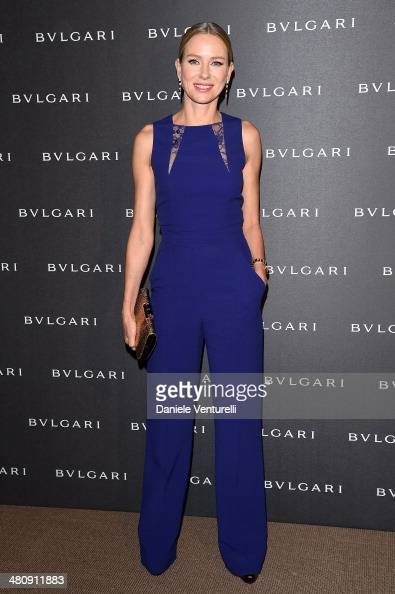 Actress Naomi Watts attends BVLGARI LVCEA Unveiling during the Baselworld on March 27 2014 in Basel Switzerland