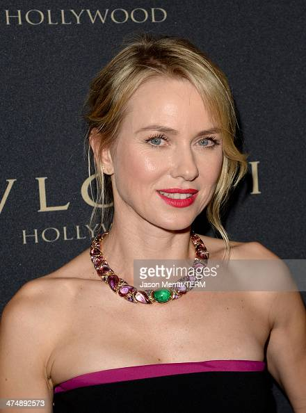 Actress Naomi Watts attends 'Decades of Glamour' presented by BVLGARI on February 25 2014 in West Hollywood California