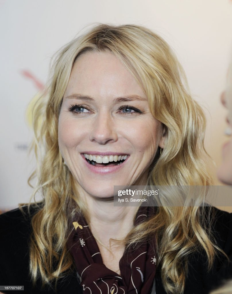 Actress <a gi-track='captionPersonalityLinkClicked' href=/galleries/search?phrase=Naomi+Watts&family=editorial&specificpeople=171723 ng-click='$event.stopPropagation()'>Naomi Watts</a> attends New 42nd Street Gala at The New Victory Theater on December 5, 2012 in New York City.