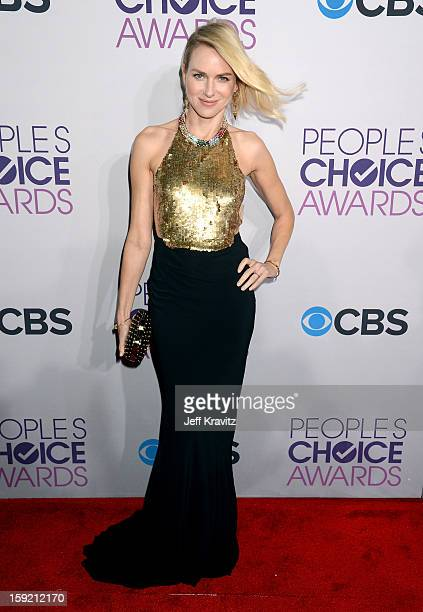 Actress Naomi Watts attends the 2013 People's Choice Awards at Nokia Theatre LA Live on January 9 2013 in Los Angeles California
