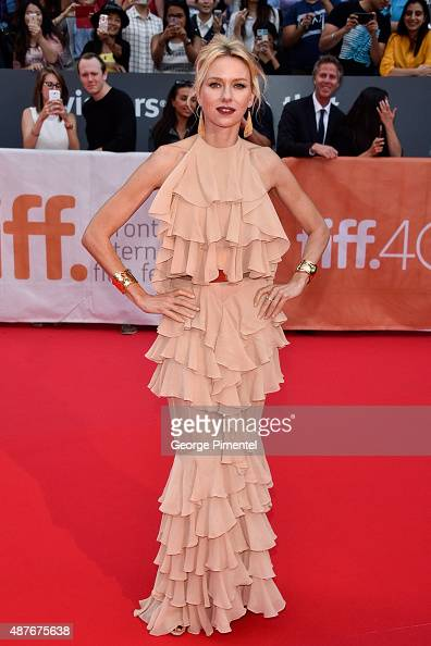Actress Naomi Watts attends the 2015 Toronto International Film Festival 'Demolition' premiere and opening night gala at Roy Thomson Hall on...