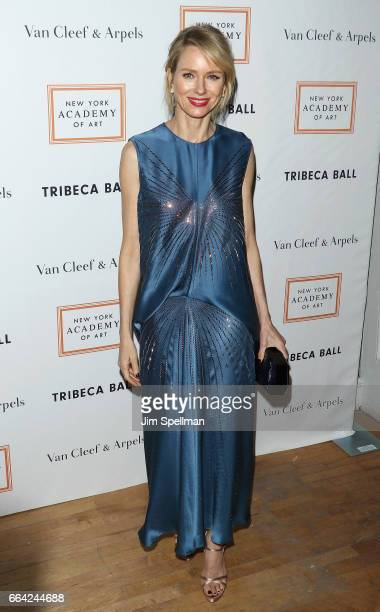 Actress Naomi Watts attends the 2017 TriBeCa Ball at The New York Academy of Art on April 3 2017 in New York City