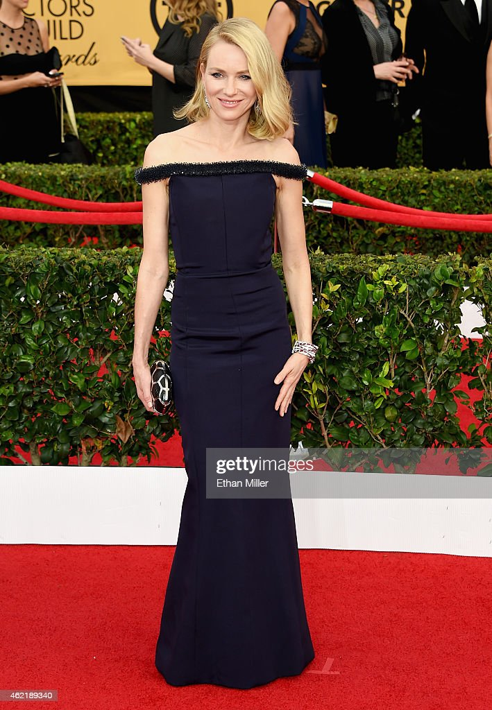 Actress Naomi Watts attends the 21st Annual Screen Actors Guild Awards at The Shrine Auditorium on January 25 2015 in Los Angeles California
