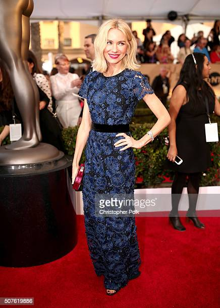 Actress Naomi Watts attends The 22nd Annual Screen Actors Guild Awards at The Shrine Auditorium on January 30 2016 in Los Angeles California 25650_018