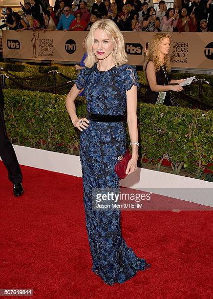 Actress Naomi Watts attends The 22nd Annual Screen Actors Guild Awards at The Shrine Auditorium on January 30 2016 in Los Angeles California 25650_015