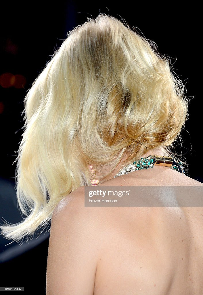 Actress Naomi Watts (hair detail) attends the 39th Annual People's Choice Awards at Nokia Theatre L.A. Live on January 9, 2013 in Los Angeles, California.
