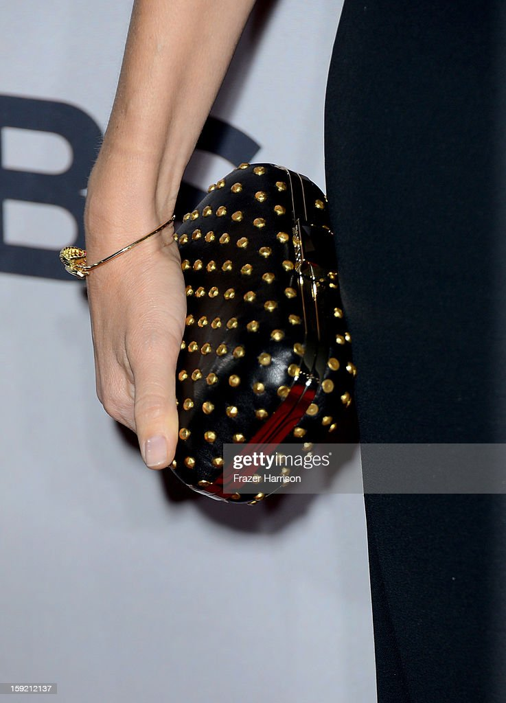 Actress Naomi Watts (clutch detail) attends the 39th Annual People's Choice Awards at Nokia Theatre L.A. Live on January 9, 2013 in Los Angeles, California.