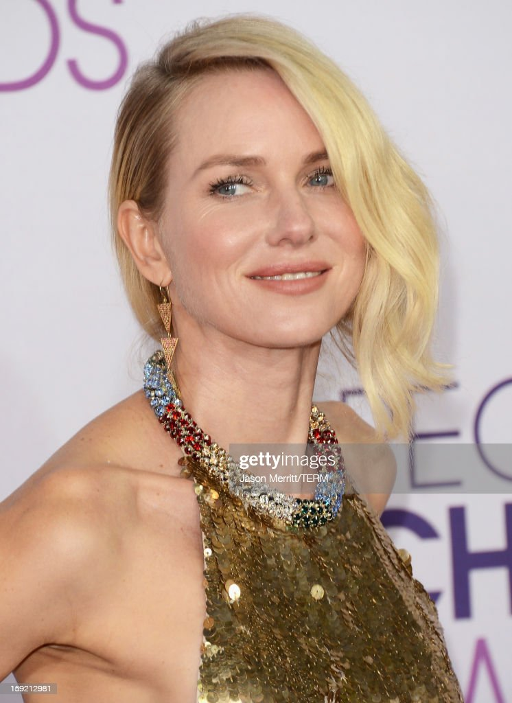 Actress Naomi Watts attends the 39th Annual People's Choice Awards at Nokia Theatre L.A. Live on January 9, 2013 in Los Angeles, California.
