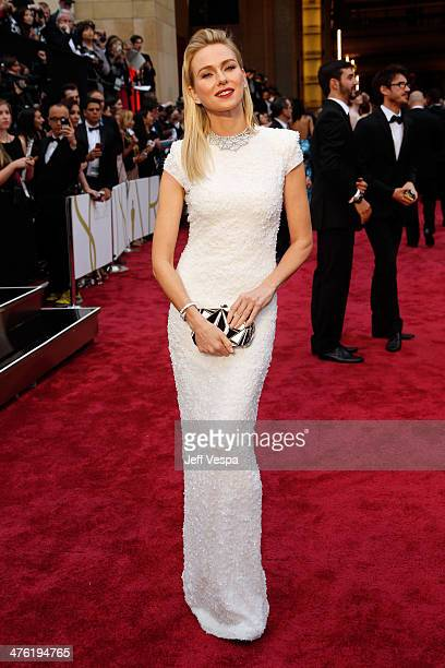 Actress Naomi Watts attends the 86th Oscars held at Hollywood Highland Center on March 2 2014 in Hollywood California
