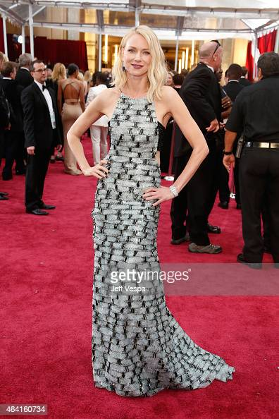 Actress Naomi Watts attends the 87th Annual Academy Awards at Hollywood Highland Center on February 22 2015 in Hollywood California