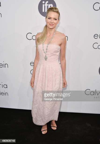 Actress Naomi Watts attends the Calvin Klein Party at the 67th Annual Cannes Film Festival on May 15 2014 in Cannes France