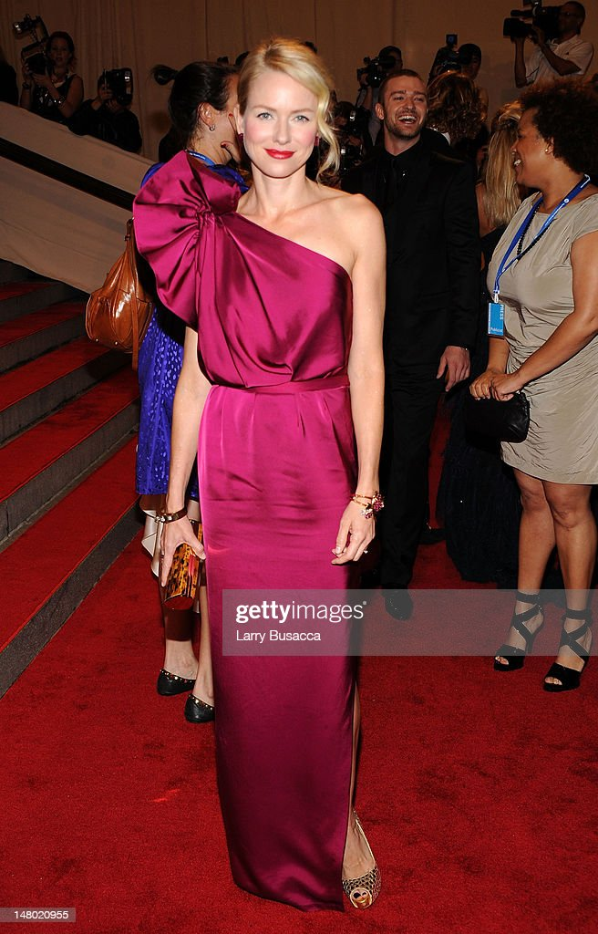 Actress Naomi Watts attends the Costume Institute Gala Benefit to celebrate the opening of the 'American Woman: Fashioning a National Identity' exhibition at The Metropolitan Museum of Art on May 3, 2010 in New York City.