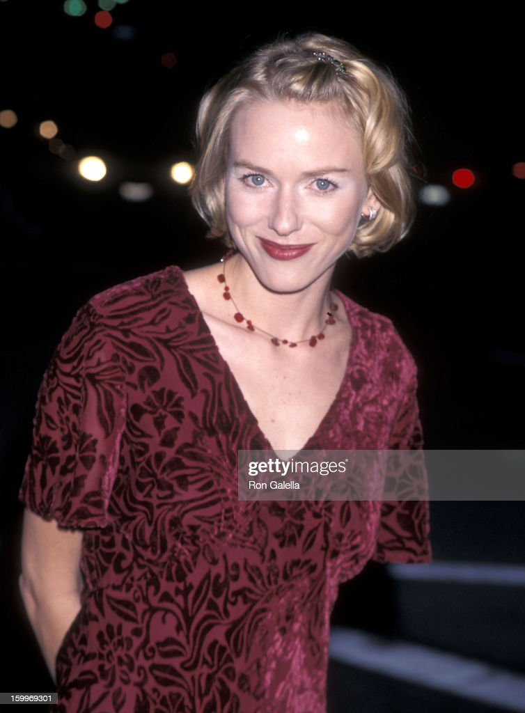 Actress Naomi Watts attends the 'Dangerous Beauty' Westwood Premiere on February 9, 1998 at the Mann Village Theatre in Westwood, California.