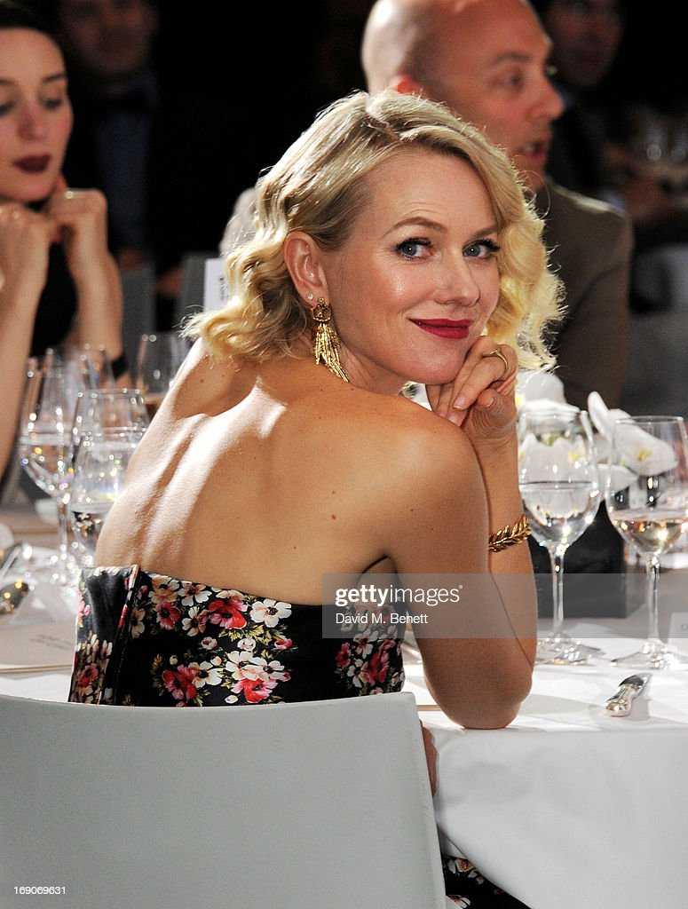 Actress <a gi-track='captionPersonalityLinkClicked' href=/galleries/search?phrase=Naomi+Watts&family=editorial&specificpeople=171723 ng-click='$event.stopPropagation()'>Naomi Watts</a> attends the exclusive 'For The Love Of Cinema' event hosted by Swiss luxury watch manufacturer IWC Schaffhausen at the famous Hotel du Cap-Eden-Roc on May 19, 2013 in Antibes, France.