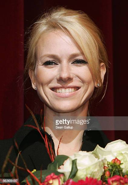 Actress Naomi Watts attends the German premiere of 'King Kong' December 7 2005 in Berlin Germany