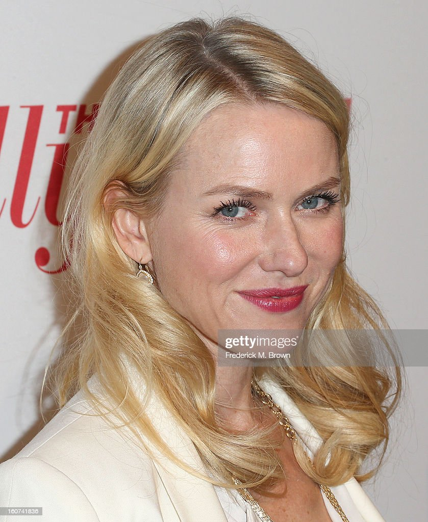 Actress <a gi-track='captionPersonalityLinkClicked' href=/galleries/search?phrase=Naomi+Watts&family=editorial&specificpeople=171723 ng-click='$event.stopPropagation()'>Naomi Watts</a> attends The Hollywood Reporter Nominees' Night 2013 Celebrating The 85th Annual Academy Award Nominees at Spago on February 4, 2013 in Beverly Hills, California.