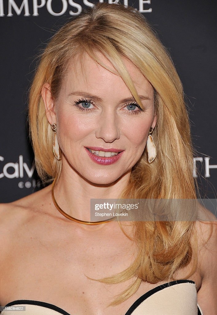 Actress Naomi Watts attends 'The Impossible' New York special screening at Museum of Art and Design on December 12, 2012 in New York City.