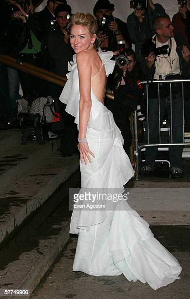 Actress Naomi Watts attends the MET Costume Institute Gala Celebrating Chanel at the Metropolitan Museum of Art May 2 2005 In New York City