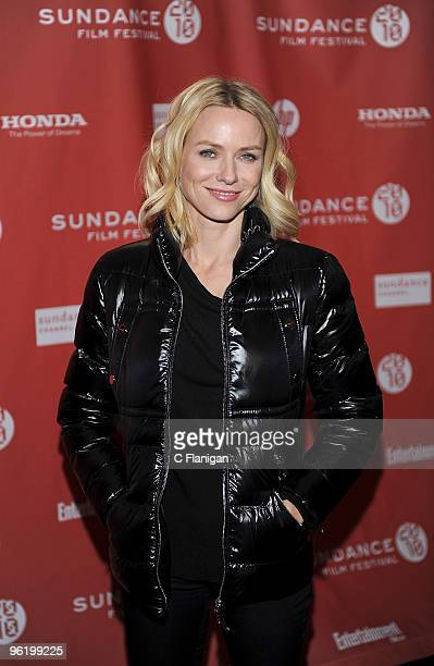 Actress Naomi Watts attends the 'Mother And Child' premiere during the 2010 Sundance at the Racquet Club on January 25 2010 in Park City Utah