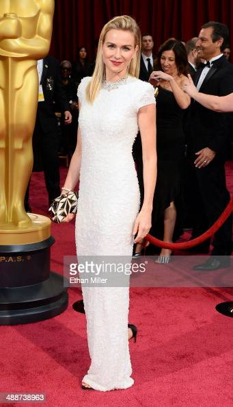 Actress Naomi Watts attends the Oscars held at Hollywood Highland Center on March 2 2014 in Hollywood California