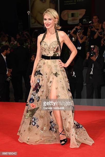 Actress Naomi Watts attends the premiere of 'The Bleeder' during the 73rd Venice Film Festival at Sala Grande on September 2 2016 in Venice Italy