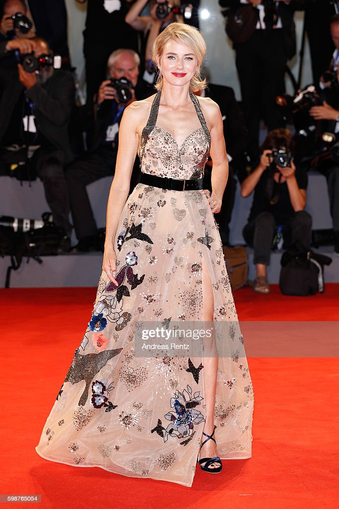 Actress Naomi Watts attends the premiere of 'The Bleeder' during the 73rd Venice Film Festival at Sala Grande on September 2, 2016 in Venice, Italy.