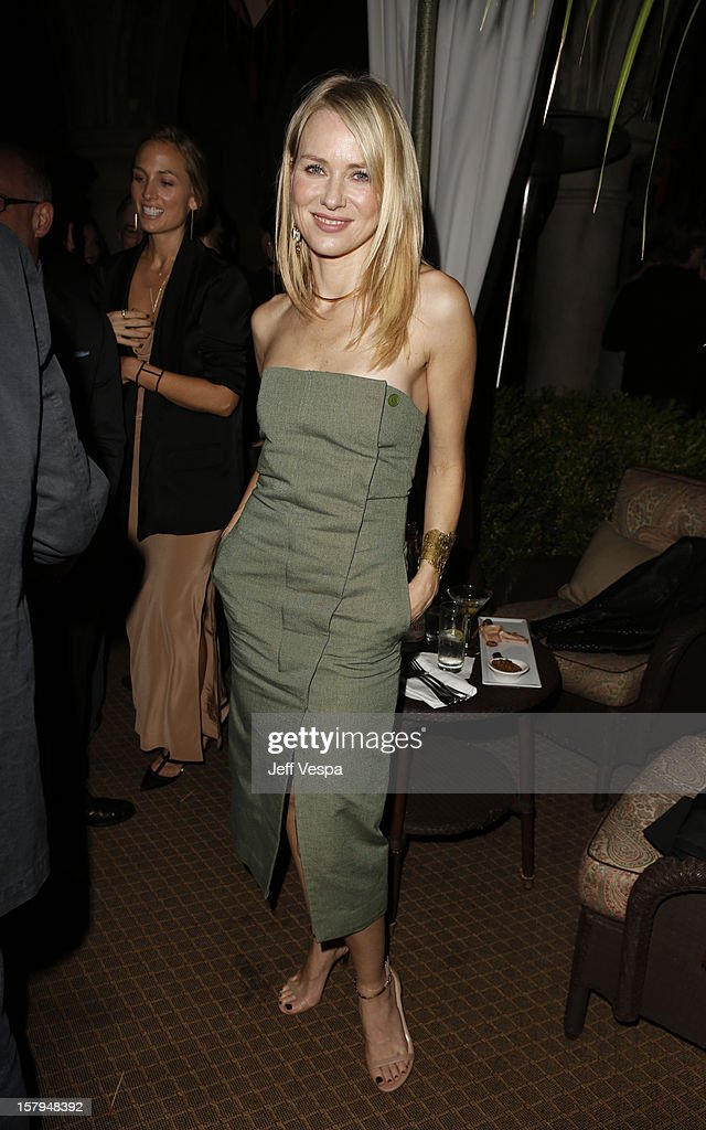 Actress Naomi Watts attends the SILVER LININGS PLAYBOOK Event Hosted By Lexus And Purity Vodka at Chateau Marmont on December 7, 2012 in Los Angeles, California.