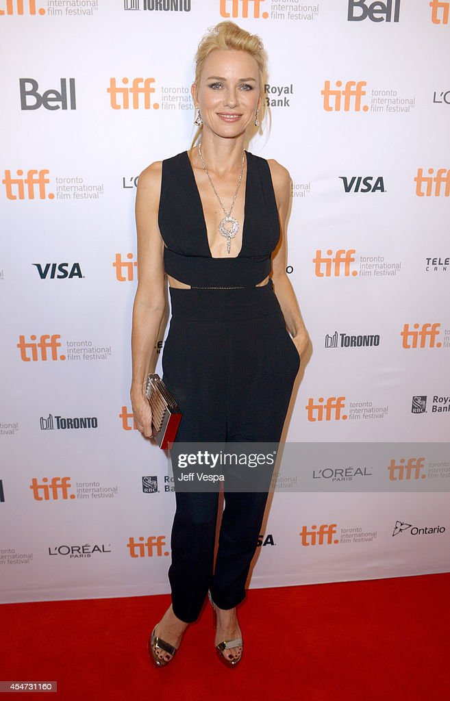 Actress Naomi Watts attends the 'St Vincent' premiere during the 2014 Toronto International Film Festival at Princess of Wales Theatre on September 5...