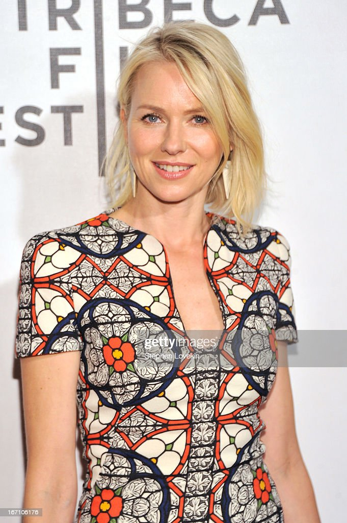 Actress <a gi-track='captionPersonalityLinkClicked' href=/galleries/search?phrase=Naomi+Watts&family=editorial&specificpeople=171723 ng-click='$event.stopPropagation()'>Naomi Watts</a> attends the 'Sunlight Jr.' World Premiere during the 2013 Tribeca Film Festival on April 20, 2013 in New York City.