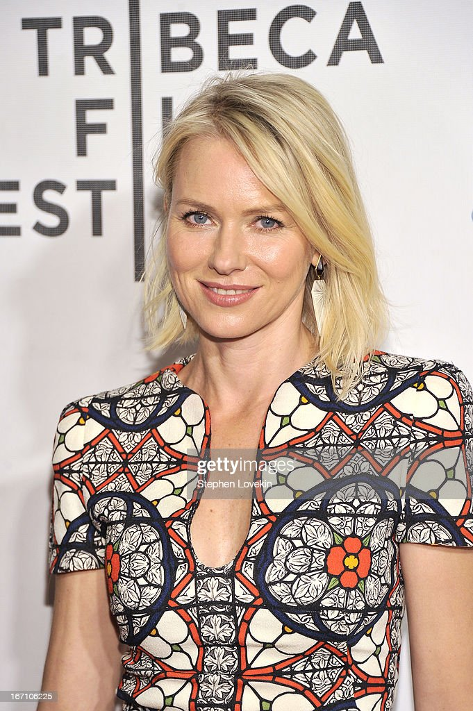 Actress Naomi Watts attends the 'Sunlight Jr.' World Premiere during the 2013 Tribeca Film Festival on April 20, 2013 in New York City.