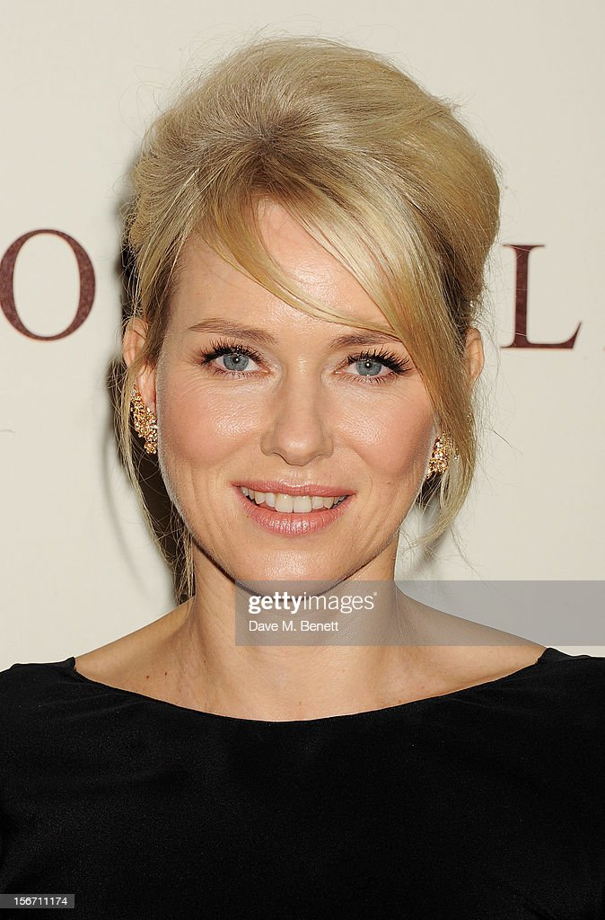 Actress <a gi-track='captionPersonalityLinkClicked' href=/galleries/search?phrase=Naomi+Watts&family=editorial&specificpeople=171723 ng-click='$event.stopPropagation()'>Naomi Watts</a> attends the UK charity premiere of 'The Impossible' at BFI IMAX on November 19, 2012 in London, England.