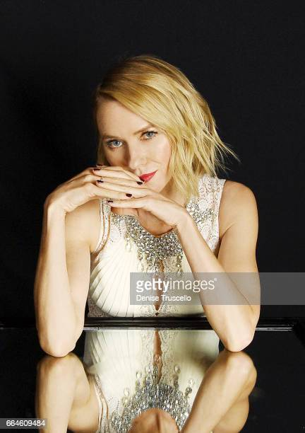 Actress Naomi Watts is photographed at CinemaCon for Peoplecom on March 30 2017 in Las Vegas Nevada