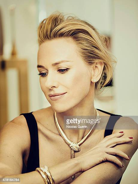 Actress Naomi Watts is photographed for Self Assignment on May 15 2015 in Cannes France