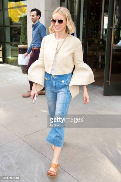 Actress Naomi Watts is seen in MIdtown on May 18 2017 in New York City