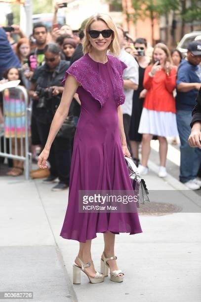 Actress Naomi Watts is seen on June 29 2017 in New York City