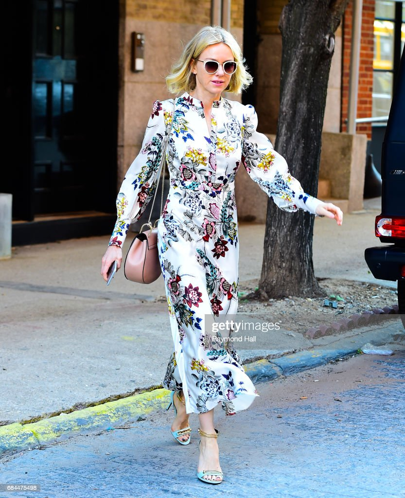 Actress Naomi Watts is seen walking in Soho on May 18, 2017 in New York City.