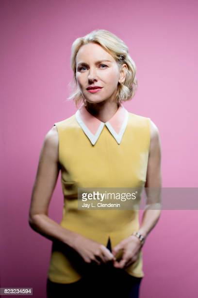 Actress Naomi Watts of Showtime's 'Twin Peaks' poses for a portrait at San Diego Comic Con for Los Angeles Times on July 21 2017 in San Diego...