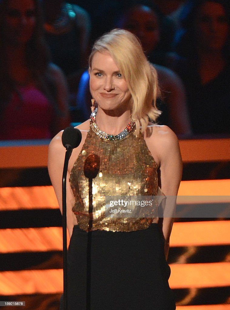 Actress Naomi Watts onstage during the 2013 People's Choice Awards at Nokia Theatre L.A. Live on January 9, 2013 in Los Angeles, California.